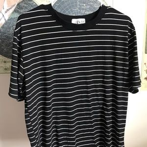 Tops - Black Striped Tshirt